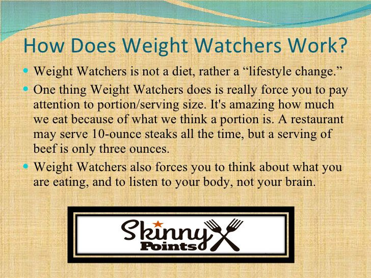 How Does Weight Watchers Work                              …