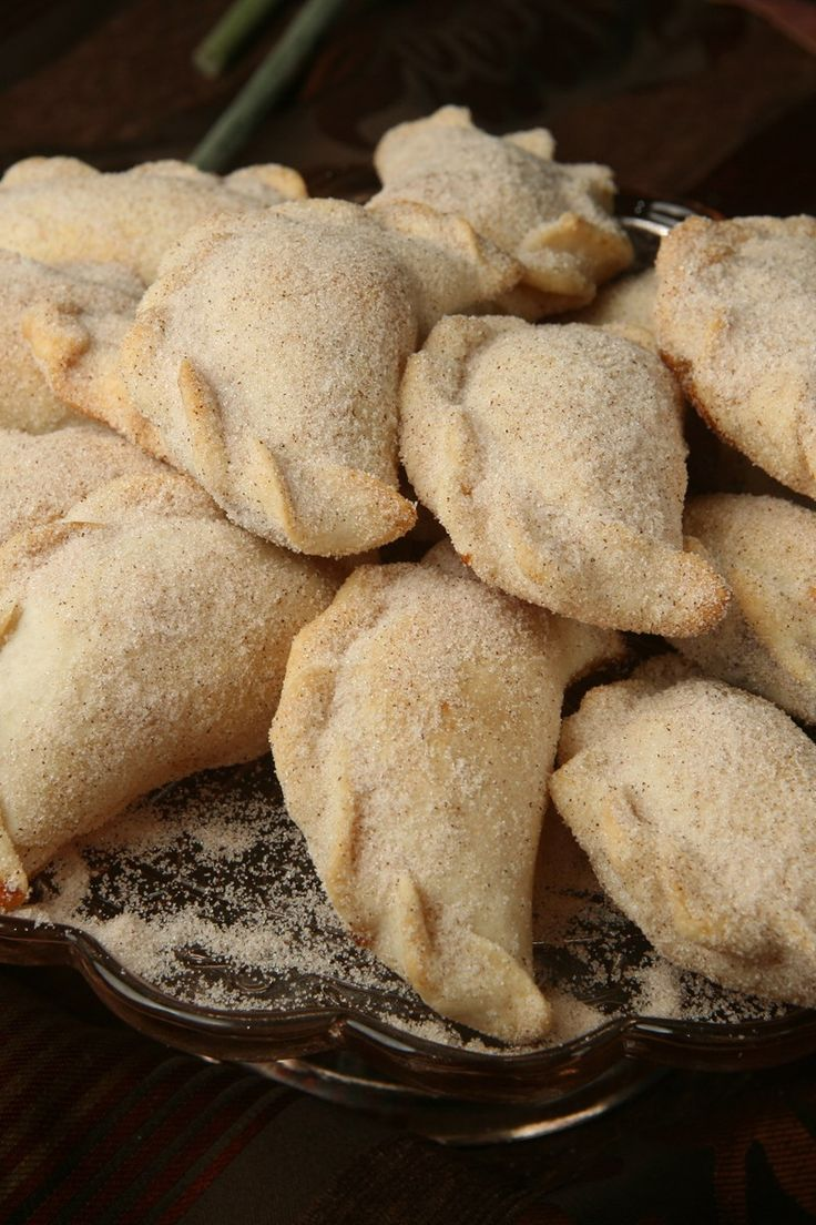 Dessert Empanadas with Cinnamon Sugar Recipe