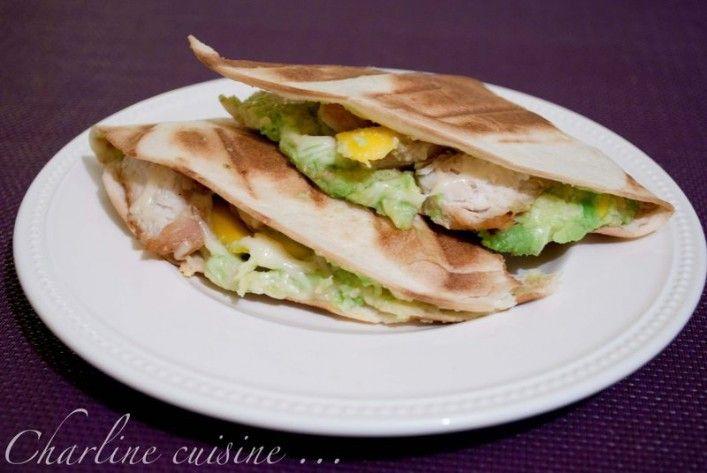 Godiche ! » Quesadillas au poulet, avocat, mangue et emmental & Comment je me suis mise au jogging