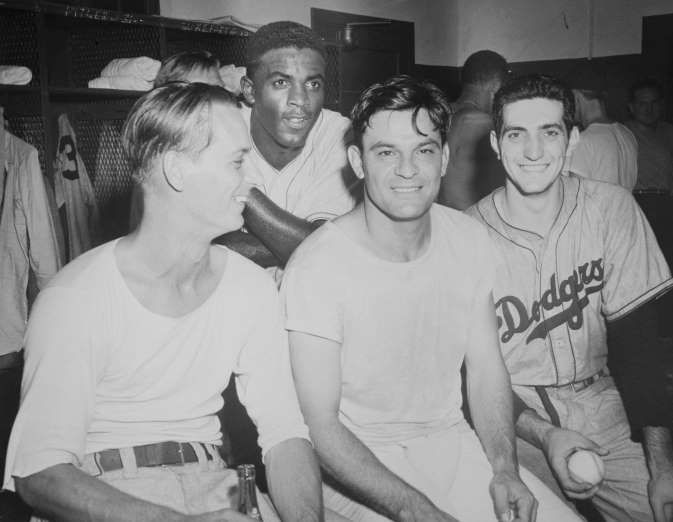 Dodgers', Astros' top all-time postseason highlights  -  October 23, 2017.   1947: COOKIE LAVAGETTO WINS GAME 4 OF THE 1947 WORLD SERIES  -   Yankees pitcher Bill Beven was on the verge of history, as had the first no-hitter in postseason history (at the time) within his sites with two outs in the ninth inning of a 2-1 game.