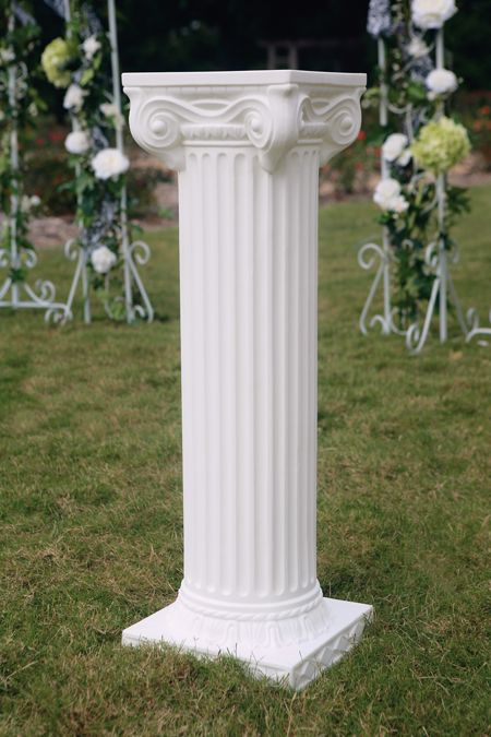 White Pedestals Al Heather S Board 6 23 18 In 2018 Pinterest Wedding Decorations And Hobby Lobby