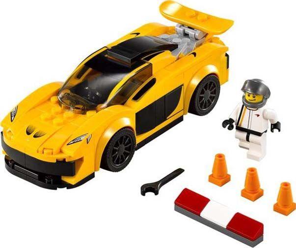 Mobil Lego mainan