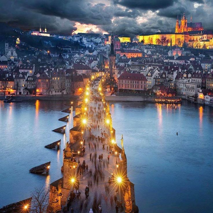 Nights in Prague