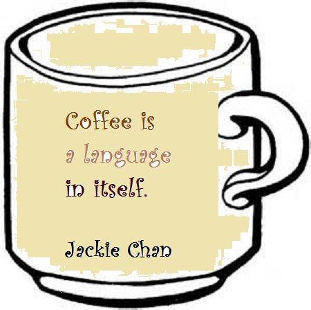 I love drinking coffee!