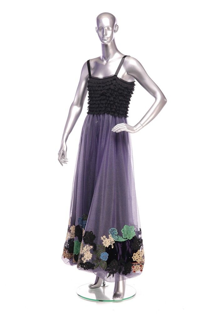 Tulle Dress with applique Order by phone:  +40 0727 781 988