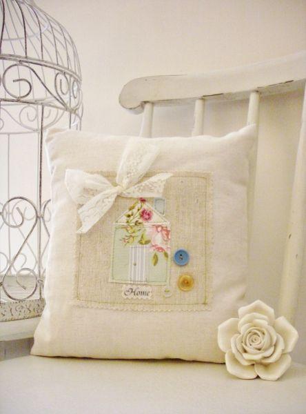 Home Cushion by Random Button