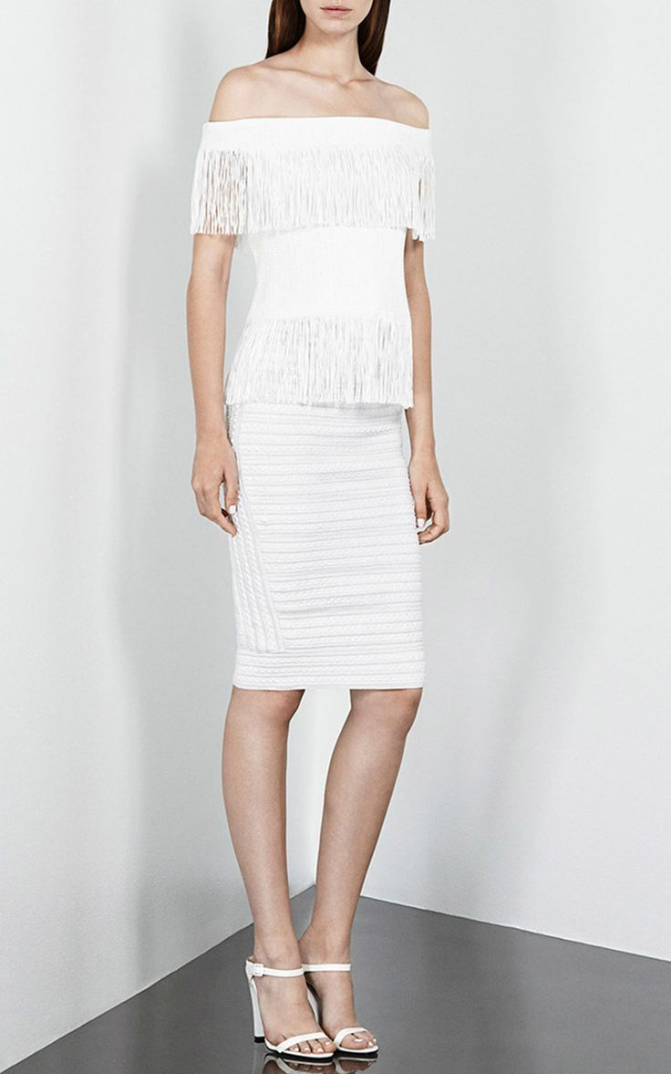 Strapless Fringe Top By Jonathan Simkhai For Preorder On
