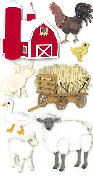 Farm > Barnyard Stickers: Stickers Galore  $5.49