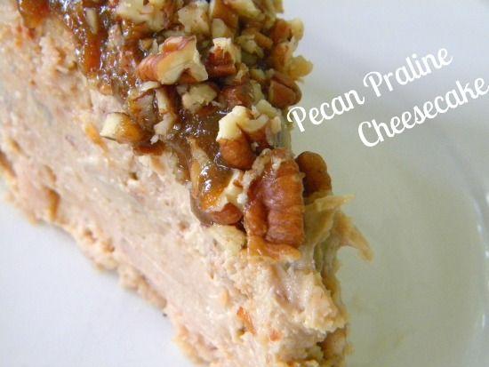 pecan praline cheesecakePecan Praline Cheesecake, Stuff Food Drinks ...