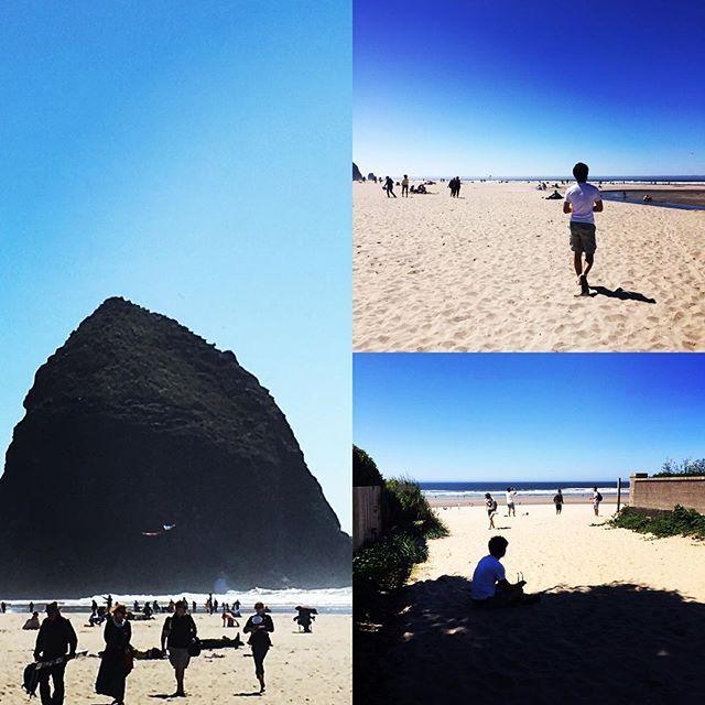 【nishizawahidekazu】さんのInstagramをピンしています。 《キャノンビーチへ行って来ました。 #オレゴン #キャノンビーチ #ヘイスタックロック  #オレゴンコースト #パシフィックオーシャン  #ロングドライブ #26号線 #海》