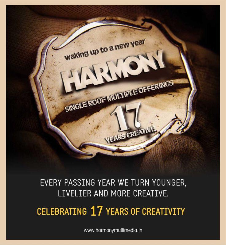 Celebrating 🎉17 years of Creativity! #17yearsCreative #harmonyMultumedia
