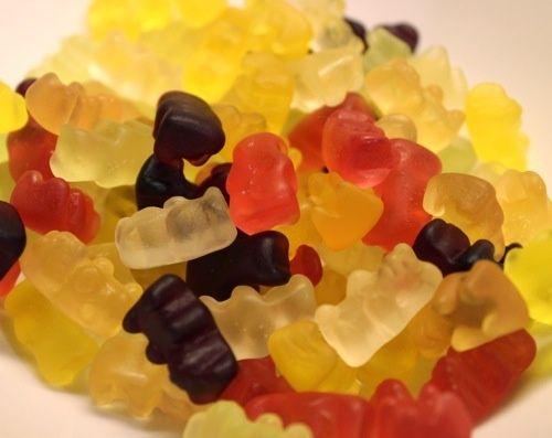 Frozen Gummy Bears