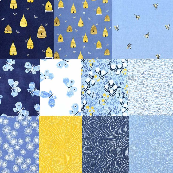 You know how we love honey bees!  This Stash Builder is a pack of 11 half yards of bees, hives, florals and textures from the Honey Bee collection by Rae Ritchie for Dear Stella Fabrics  Special Stash Builder Price - Just $33 through 1/25 with FREE SHIPPING on your entire order  Limited quantities are available