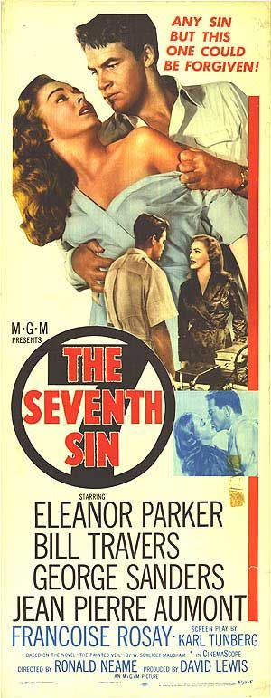 The Seventh Sin (1957) Stars: Eleanor Parker, Bill Travers, George Sanders, Jean-Pierre Aumont, Françoise Rosay, Ellen Corby, James Hong ~ Directed by Ronald Neame Vincente Minnelli