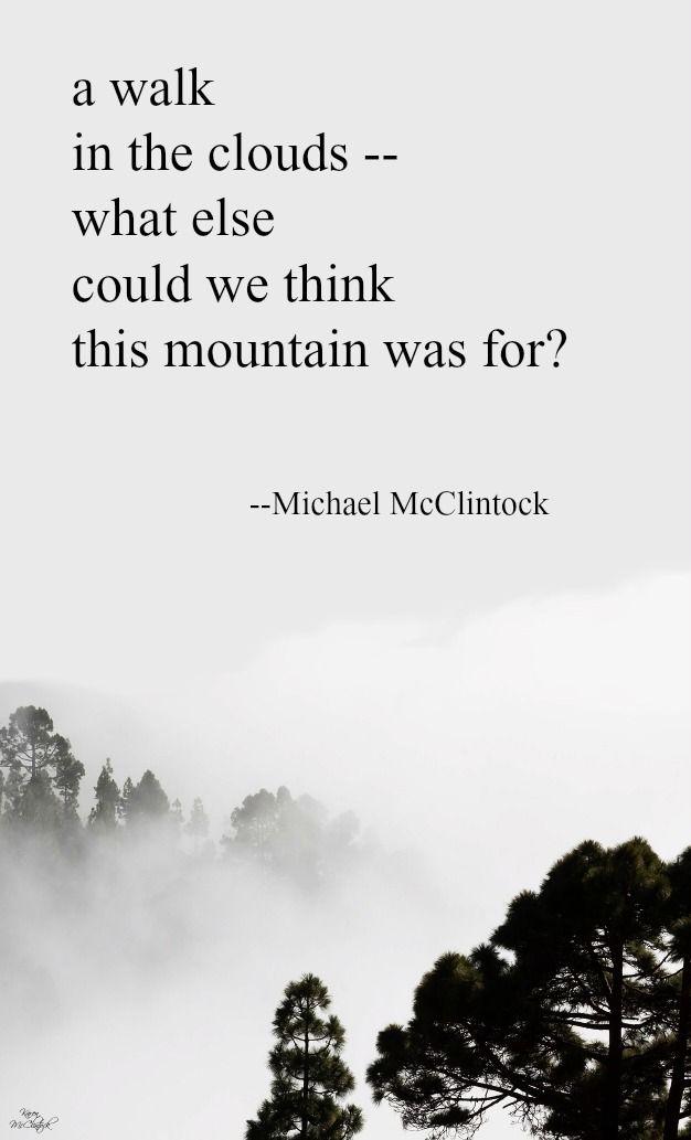 446 Best Michael Mcclintock Tanka Poetry Images On Pinterest Poem