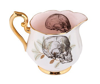 Upcycled Skull Design Vintage Cream Jug from www.notonthehighstreet.com