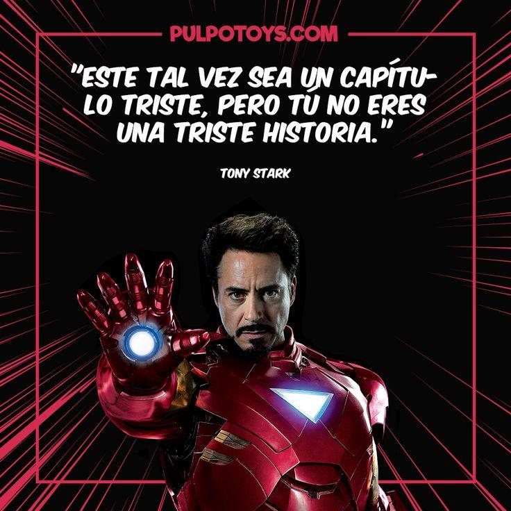 "Ironman - ""Este talvés sea un capítulo triste, pero tú no eres una triste historia"""
