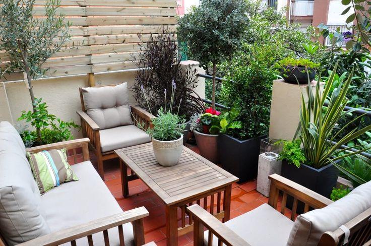 20 grandes ideias para pequenas varandas e terraços (De Sílvia Astride Cardoso - homify)