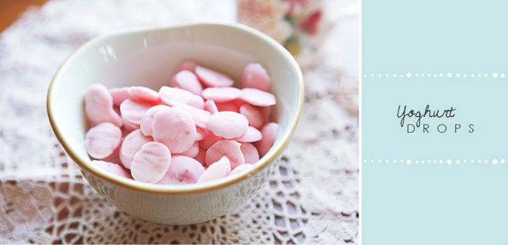 Learn how to make yoghurt drops. A simple an easy recipe