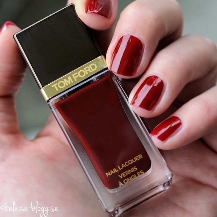 TOM FORD NAIL LACQUER 16 BORDEAUX LUST