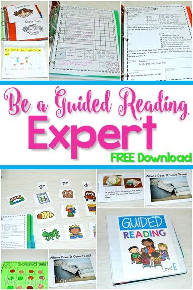 Guided Reading in Kindergarten.  Lesson plans, word work, running records, books and MORE!
