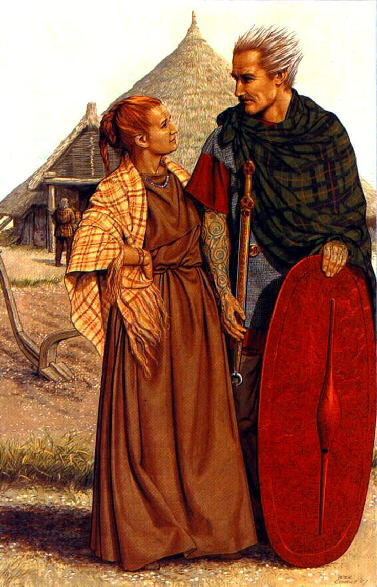 a comparison of celtic and gallic culture Celtic or gallic warrior -vacheres golden is their hair and golden their garb they are resplendent in their striped cloaks, and.