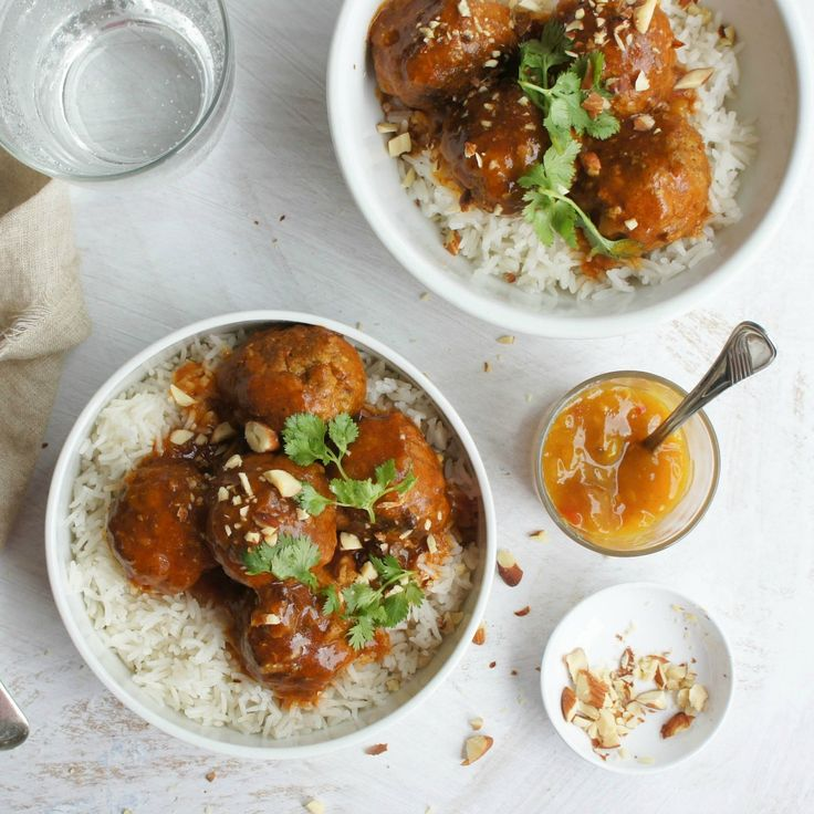 """Meatballs in Curried Sauce by kazzablues - """"A great meal, fabulous flavour, especially the gravy."""" - cooksey"""