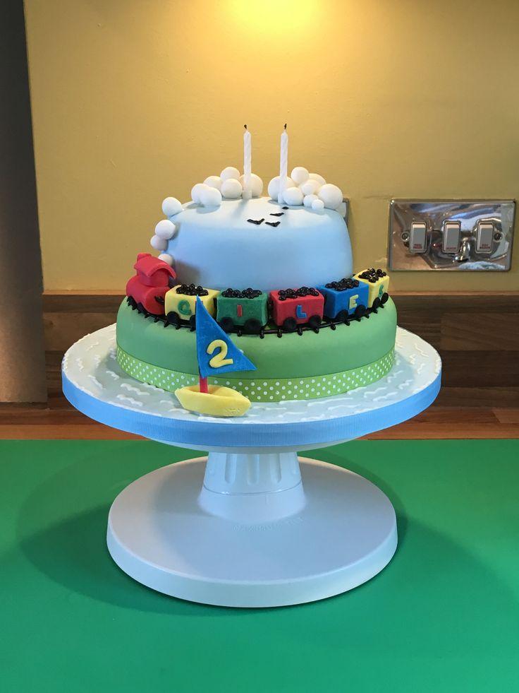 Giles's 2nd Birthday Cake