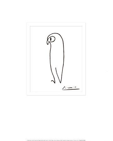 The Owl by Picasso