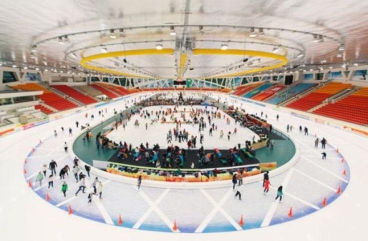 Набор детей на фигурное катание и конькобежный спорт