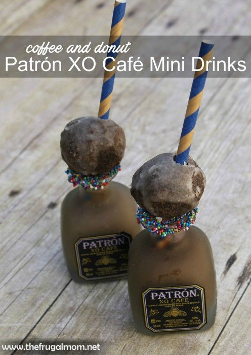 Coffee and Donut Patrón XO Café Drink