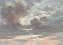 John Constable - Cloud Study: Stormy Sunset - 1821-1822 - Painting
