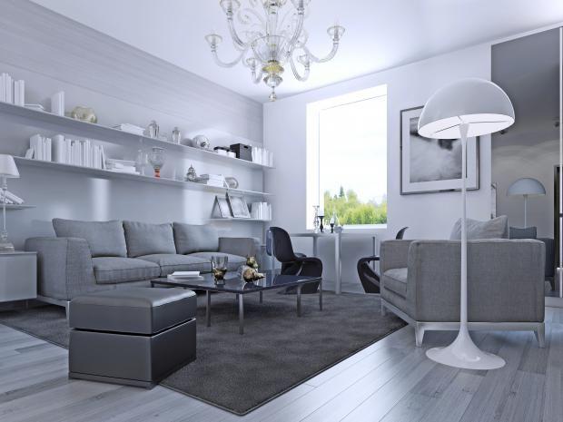 Utiliza pisos laminados y dale una segunda piel a estos, con tapetes sintéticos o pieles a pelo artificiales. #diseño #decoracion #arquitectura #moderno #tendencias #vivienda