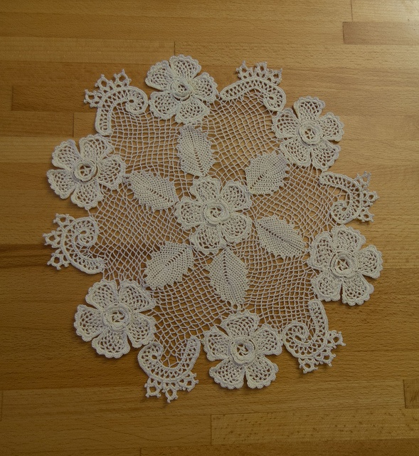 Wild Rose Doily by Captains & Mates, via Flickr