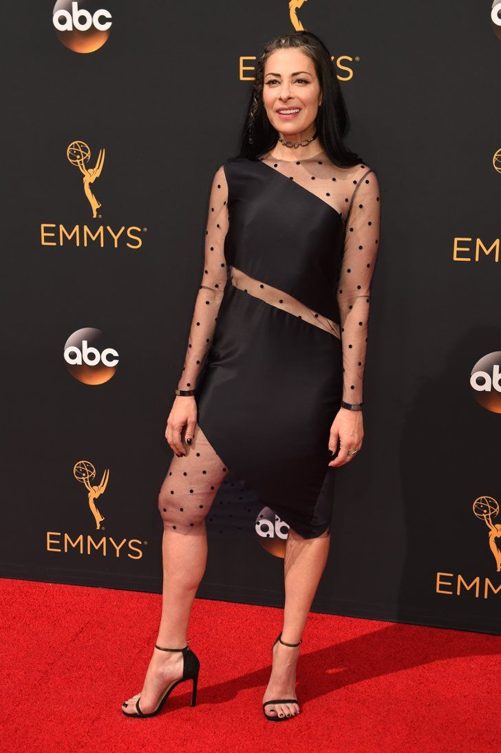 The Emmys Looks Everyone's Still Talking About After the Red Carpet Wrapped Stacy London Wearing an LBD with sheer panels.