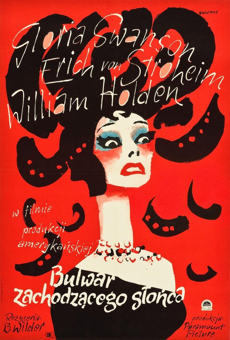 Sunset Boulevard (Polish poster)