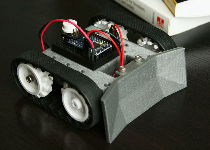 Sketchup mini sumo robot by bwevans d printing