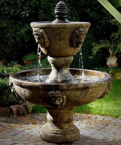 14 besten gartenbrunnen garden fountains bilder auf - Springbrunnen gartenbrunnen ...