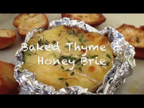 Thyme & Honey Baked Brie Recipe  | Omnom Cheese Making | Sydney
