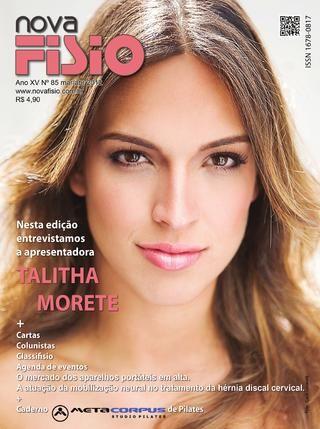 Edição 85  da Revista NovaFisio. Tudo sobre Fisioterapia.