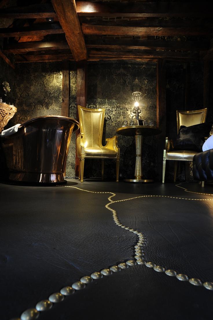 buffallo studded floor nightclub designflooring
