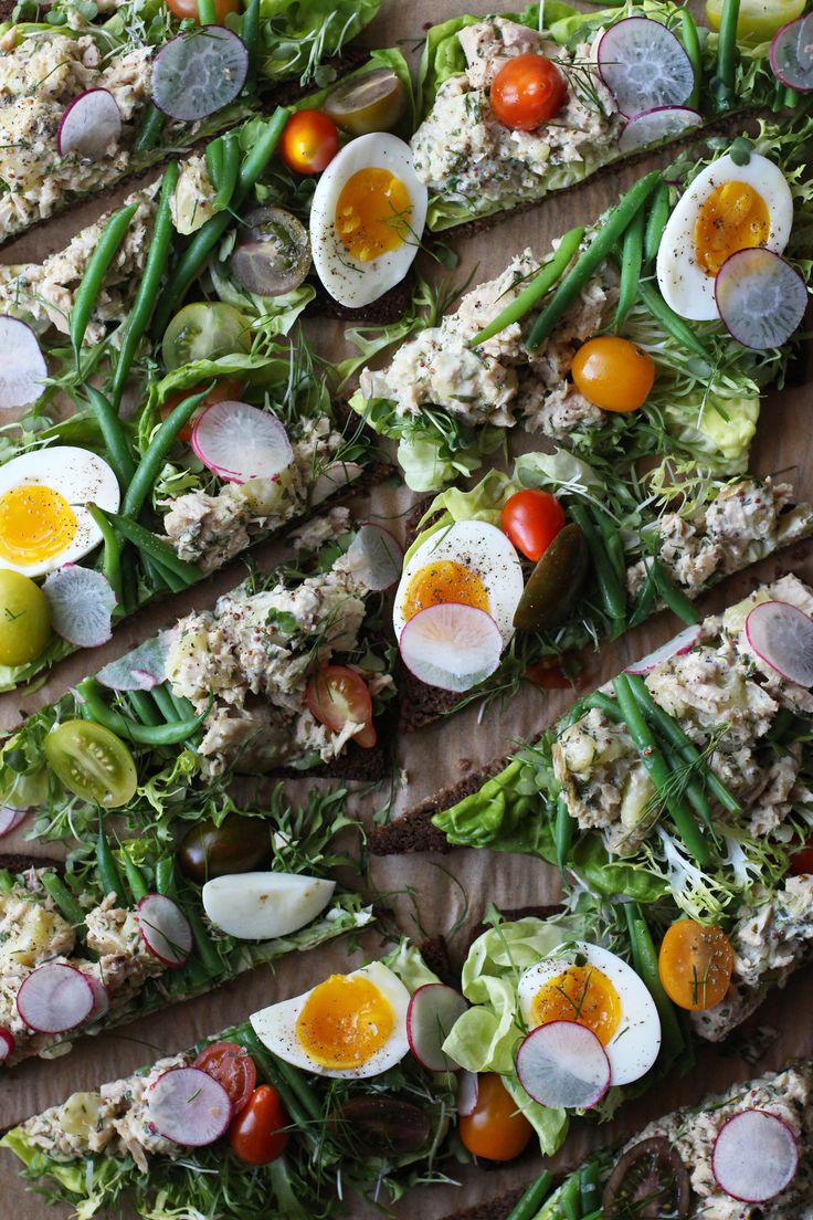 Meet the nicoise salad, now in sandwich form.