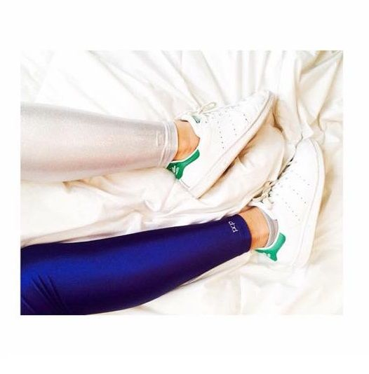 Dark blue shiny and white glitter #pcpleggings   #pcpclothing #pcpinia