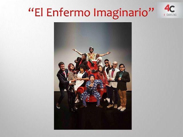 LIMA VAGA: 'El Enfermo Imaginario' en Teatro Plaza Norte