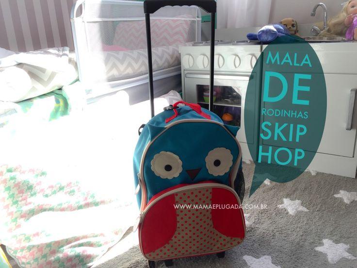 Review de Produto: Mochila Rodinhas Skip Hop Zoo