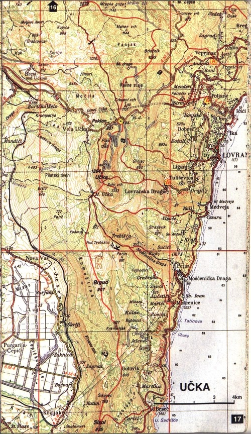 Ucka map