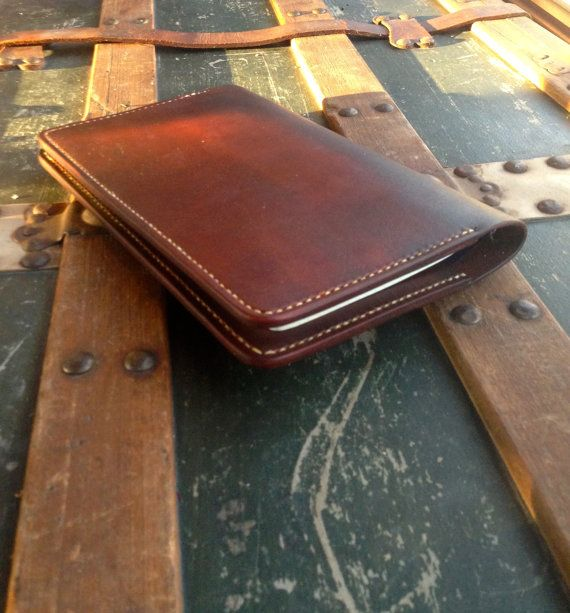 Leather Notebook Cover, Refillable Journal Cover, Leather Large Moleskine Notebook, Great Gift Idea