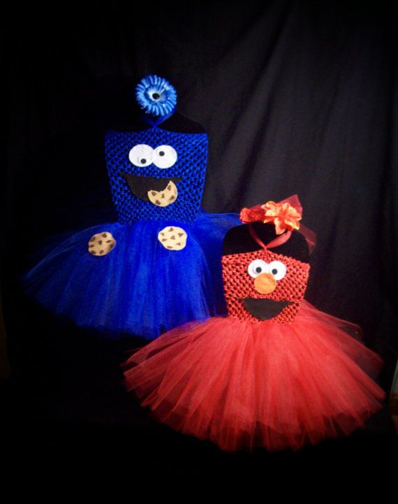 3pc ELMO Tutu Dress set, SESAME STREET, Children Costume ...