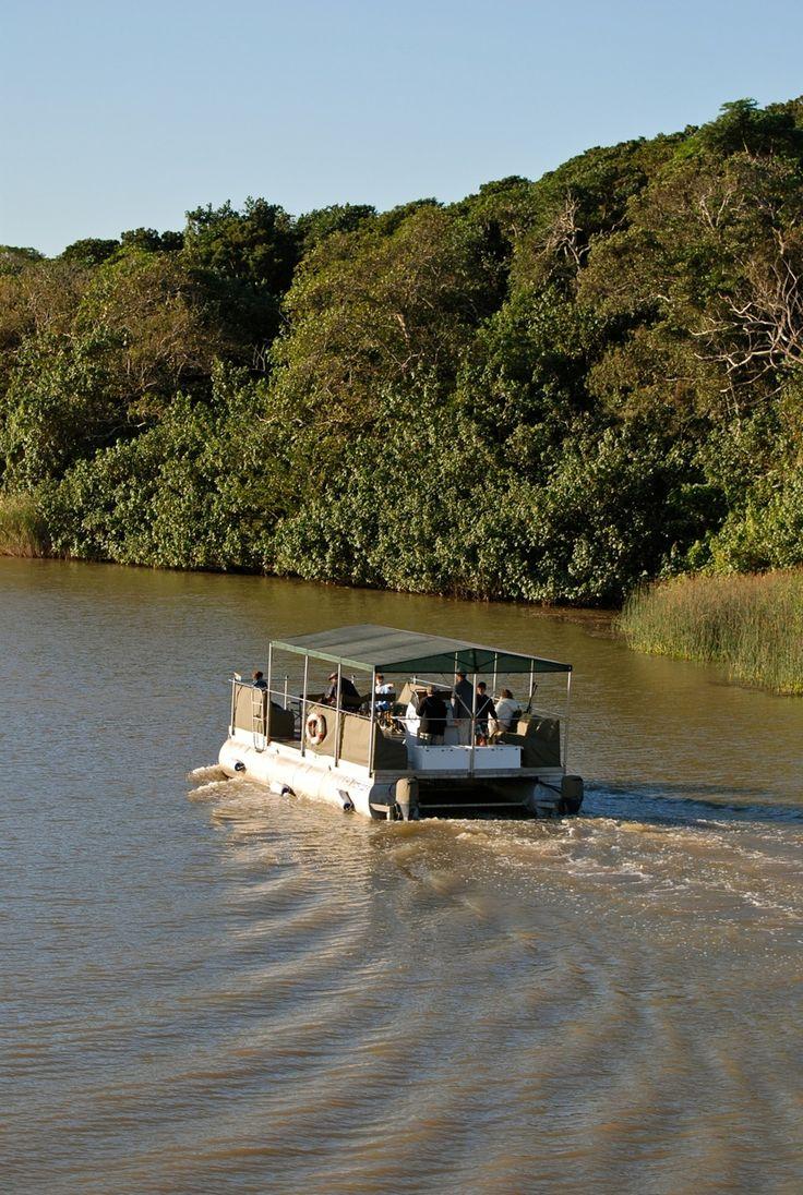 Makakatana - Private Boat on St Lucia Estuary - iSimangaliso Wetland Park World Heritage Site