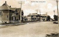 Allandale Road, Allandale (B&W, Part of modern day Barrie)